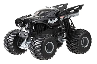 Hot Wheels Monster Jam Batman Die-Cast Vehicle, 1:24 Scale by Hot Wheels