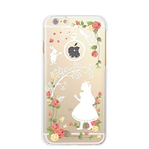 iPhone6 4.7 inch iphone ハードケース ケース カバー スマホケース クリアケース Clear Arts アリス 保護フィルム付 08-ip6-ca0115