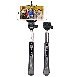 HOCO Premium Ultrasonic Self-timer Extendable Selfie Stick with Built-in Bluetooth for iOS & Android devices