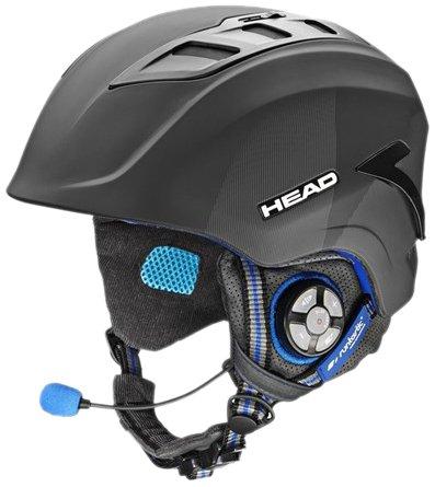 Runtastic Casco Sci/Snowboard con Auricolari Integrati e Microfono Incorporato per Smartphone e MP3 Player, Bluetooth, Misura ML Medium-Large con Fascia Cardio Runtastic Bluetooth