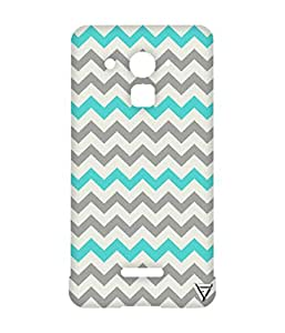 Vogueshell ZigZag Pattern Printed Symmetry PRO Series Hard Back Case for Coolpad Note 3