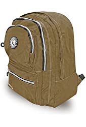 Briefcase with 4 Pockets- Beige L529