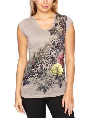 Firetrap Dionne Leopard Printed Women's T-Shirt
