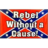 CONFEDERATE FLAG REBEL WITHOUT A CAUSE ~ Sportsworld