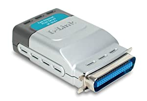 D-Link DP-301P+ 10/100TX 1-Centronic Port Print Server (Color: One Color, Tamaño: One Size)
