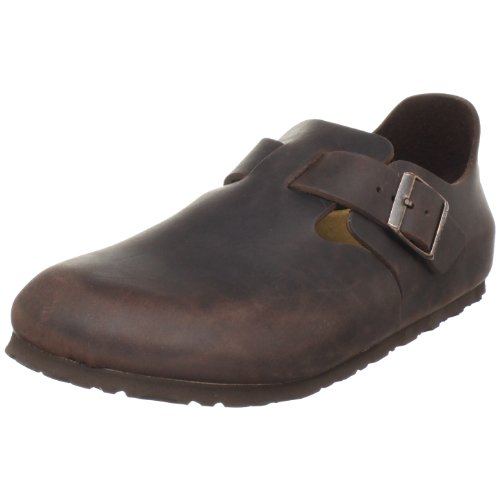 Birkenstock Women's London Slip-On,Habana Oiled Leather,40 M EU