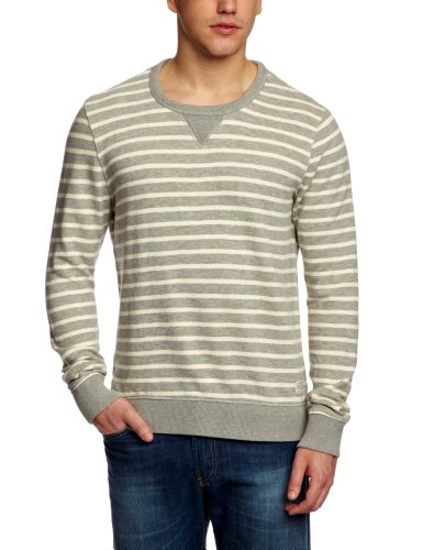 Cottonfield Ruepen Yd Men's Top Sweatshirt Grey/White Large