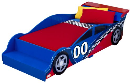 Read About Race Car Toddler Bed