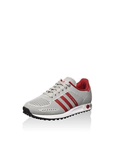 adidas Hightop Sneaker La Trainer Em grau