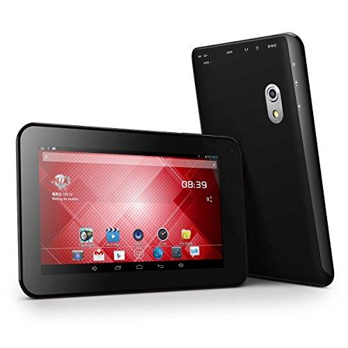 ProntoTec 7 Inch HD 1024x600 Pixels Android Tablet PC, Cortex A8 1.2Ghz Dual Core, 512MB DDR3 RAM, 6GB ROM, Android 4.2.2, Dual Cameras, Standard USB Port,Wi-Fi, G-Sensor (Black)