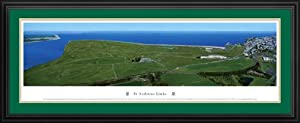 Golf Courses - St Andrews Links - Framed Poster Print by Laminated Visuals