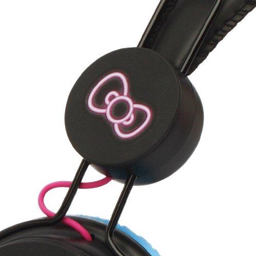 Hello Kitty ハロー キティー Headphone Night Lifeの写真03。おしゃれなヘッドホンをおすすめ-HEADMAN(ヘッドマン)-