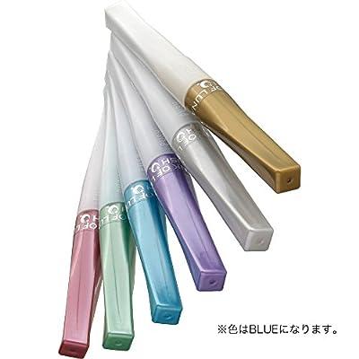 呉竹 メタリック筆ペン ウインクオブルナブラッシュ ブルー DBB190-125