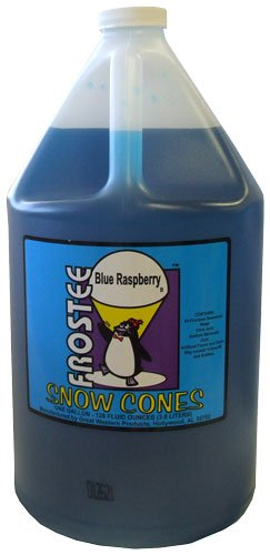 Great Western Blue Raspberry Sno-Cone Syrup 1 #15044 (Gallon Snow Cone Syrup compare prices)
