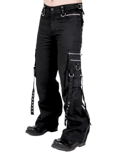 Queen of Darkness, Long trousers with side pockets, size 28