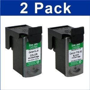 BLACK+COLOR INK FOR CANON MP190 MP210 MP470 MX300 MX310