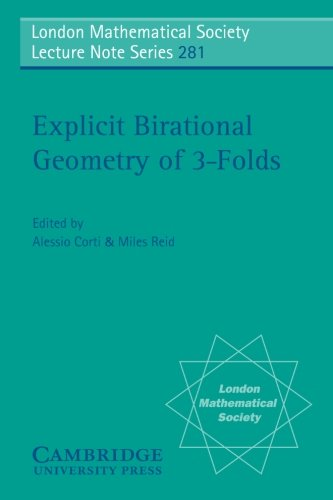 Explicit Birational Geometry of 3-folds (London Mathematical Society Lecture Note Series)