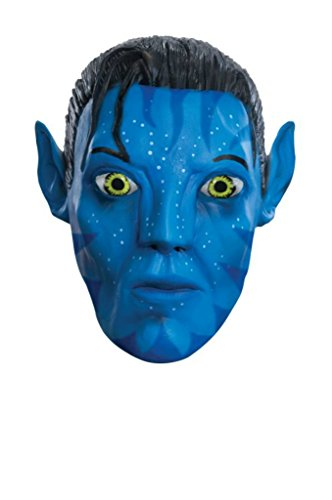 The Movie Avatar Jake Sully Deluxe Latex Adult Halloween Costume Mask