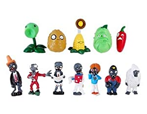16 Plants Vs Zombies Figure
