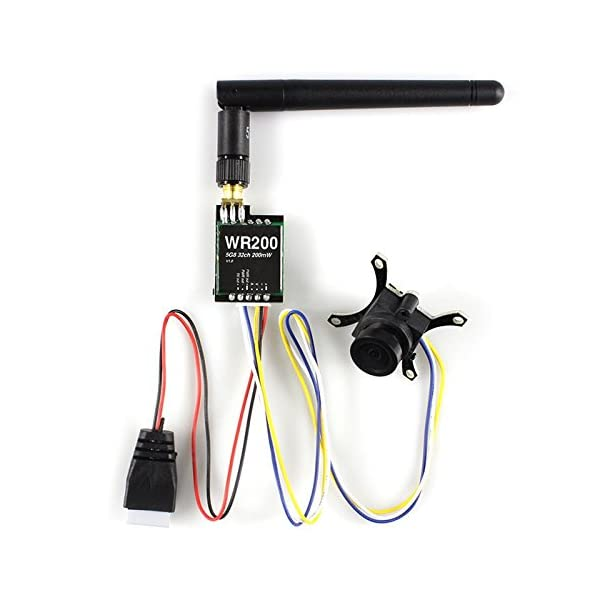CMOS-700TVL-HD-148-Degree-Wide-Angle-Camera-58G-32CH-200mW-Transmitter-Set-Accessory-for-Fixed-wing-Plane-QAV250-280-FPV-RC-Drone