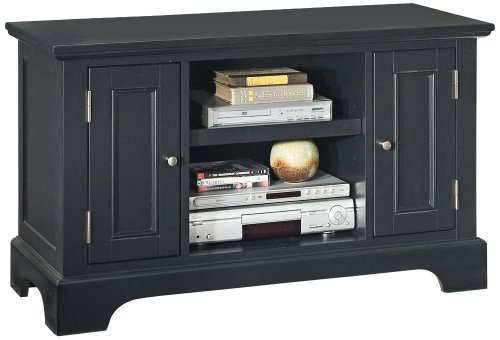Bedford Ebony Tv Entertainment Stand front-994971