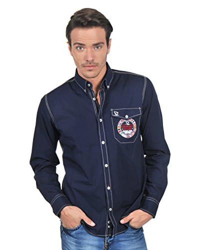 Giorgio Di Mare Camisa Hombre Azul Marino