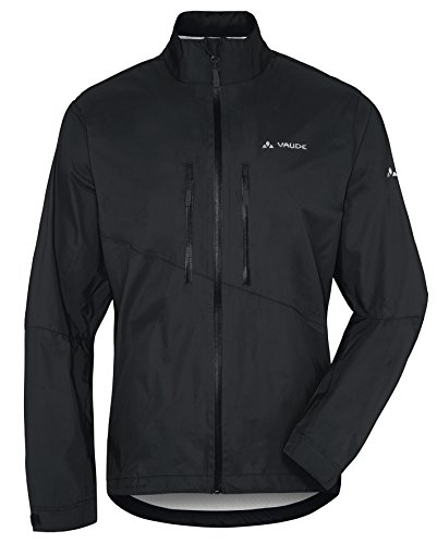 VAUDE Herren Jacke Tremal Zip Off Rain Jacket, Black, L, 05489 -