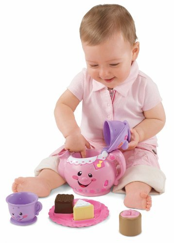 Fisher-Price Laugh And Learn Say Please Tea Set Customerpackagetype: Frustration-Free Packaging Toy, Kids, Play, Children