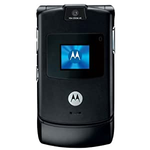 Motorola RAZR V3 Unlocked Phone with Camera and Video Player