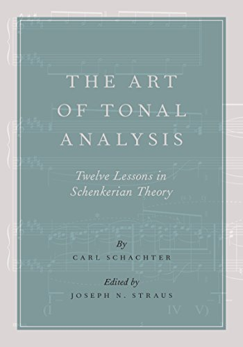 essays in schenkerian theory and analysis