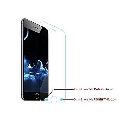 Smart Return Key Tempered Glass Screen Protector for iPhone 6/ iPhone 6 Plus with a Invisible Back Button, Handle iPhone with a Single Hand