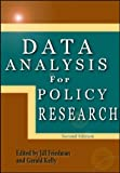img - for Data Analysis for Policy Research book / textbook / text book