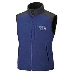 Mountain Hardwear Windstopper Tech Vest - Men's Sapphire / Black XXL