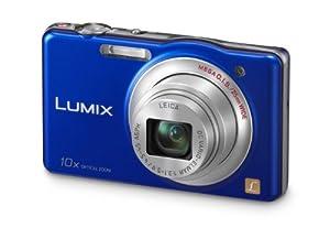 Panasonic Lumix DMC-SZ1EG-A Digitalkamera (16 Megapixel, 10-fach opt. Zoom, 7 cm (2,9 Zoll) Display, bildstabilisiert) aktiv-blau