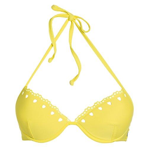 Blugirl Regg.Push-up, Bikini Top Donna, Giallo, 44