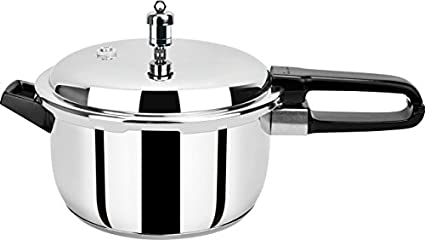 Pristine Spc5 Stainless Steel 5 L Pressure Cooker