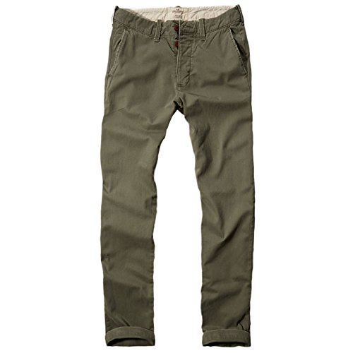 hollister-homme-hollister-slim-straight-chinos-pantalons-taille-x-small-olive-vert-612108012