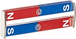 Delta Education N/S Painted Bar Magnet, 3\