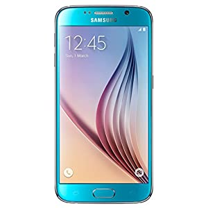 Samsung Galaxy S6 SM-G920F 64GB Factory Unlocked - International Version with No Warranty (Blue Topaz)