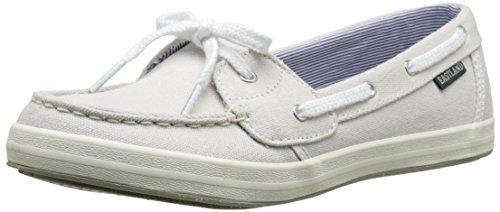Eastland Women's Skip Boat Shoe, Bone, 9 M US