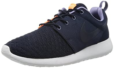 Nike Men's Rosherun Premium Drk Obsdn/Drk Obsdn/Atmc Orng Running Shoe 8 Men US
