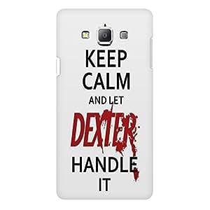 Let Dexter Handle It Samsung Galaxy A5 Back Phone Case