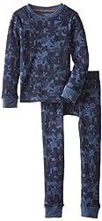 Cuddl Duds Big Boys' Cozy Thermal Long Underwear Set