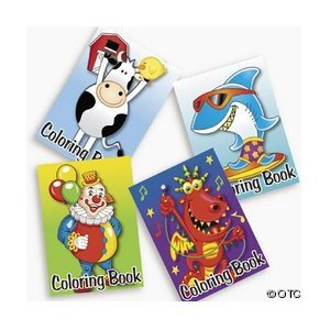 72-pack of Kid's Coloring Books ~ Great Party Favors! from Fun Express