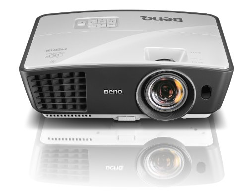 BenQ W770ST Short Throw 3D 720p HD DLP Home Theater Projector (White)