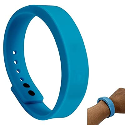 Bwatch Bluetooth 4.0 Smart Wristband Watch Fitness Activity Tracker Bracelet Waterproof-Blue