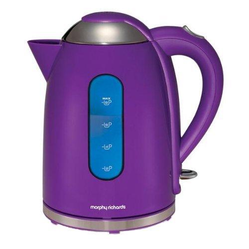 morphy richards accents 43807 jug kettle purple best. Black Bedroom Furniture Sets. Home Design Ideas