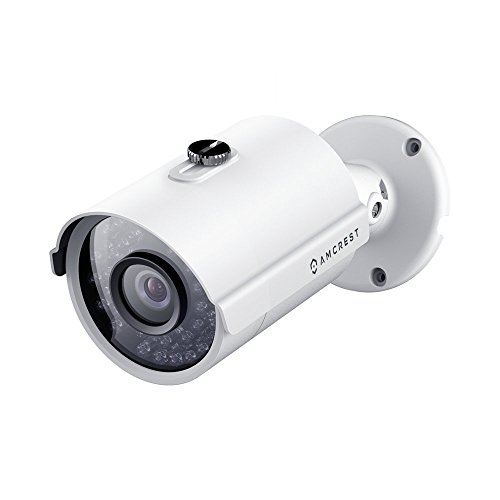 Great Deal! Amcrest ProHD Outdoor 3 Megapixel POE Bullet IP Security Camera - IP67 Weatherproof, 3MP...