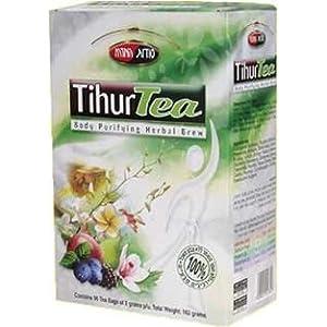 Tihur Tea Body Purifying, Detoxification Herbal Brew 90 Tea Bags