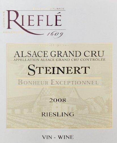 2010 Domaine Rieflé Grand Cru Steinert Riesling 750 Ml